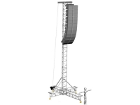 ALC Truss Engineering S-60 1T/10,5M Speaker Tower Used, Second hand